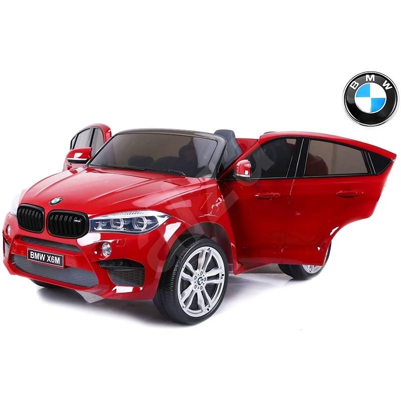 BMW X6 M lakované červené - Dětské elektrické auto