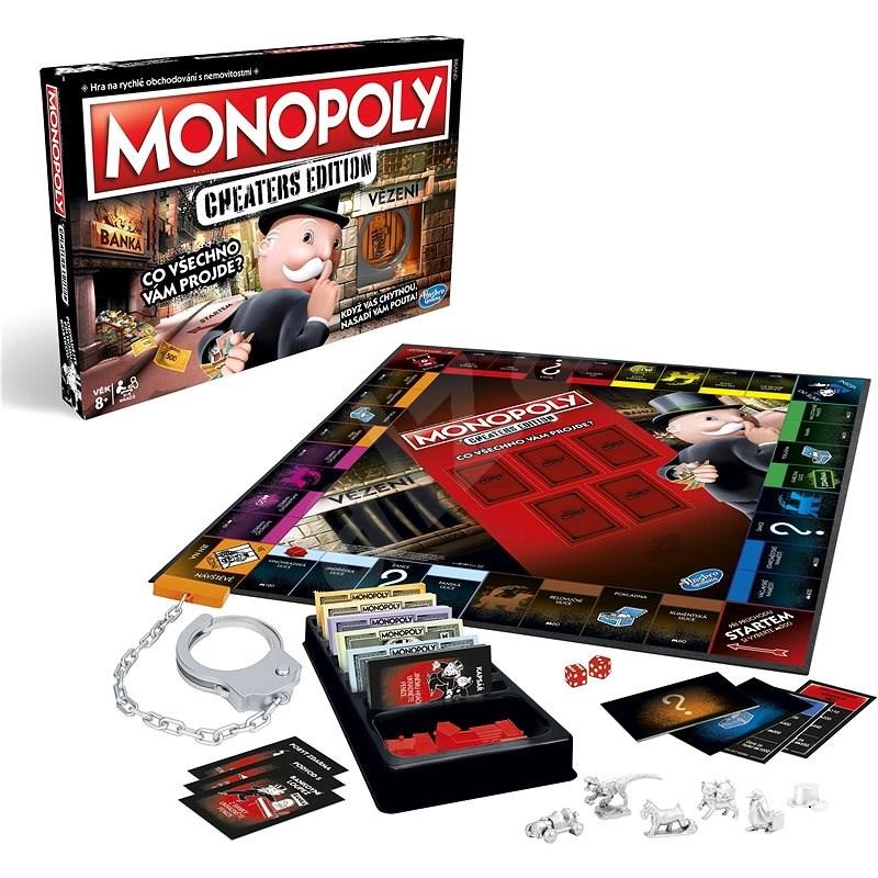Monopoly Cheaters CZ - Desková hra
