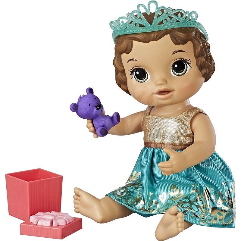 Baby Alive Narozeninová tmavovlasá panenka - Panenka