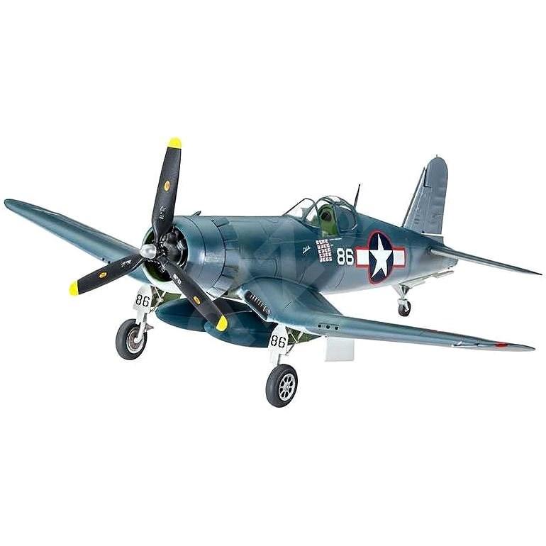Plastic ModelKit letadlo 03983 - F4U-1A Corsair - Model letadla