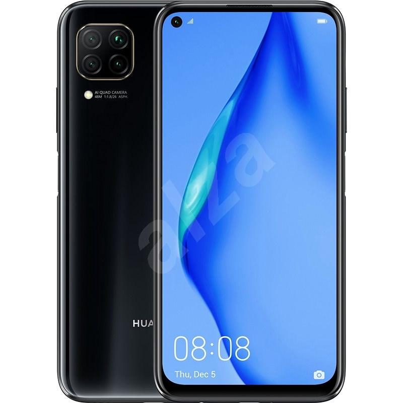 Huawei P40 Lite černá - Mobilní telefon