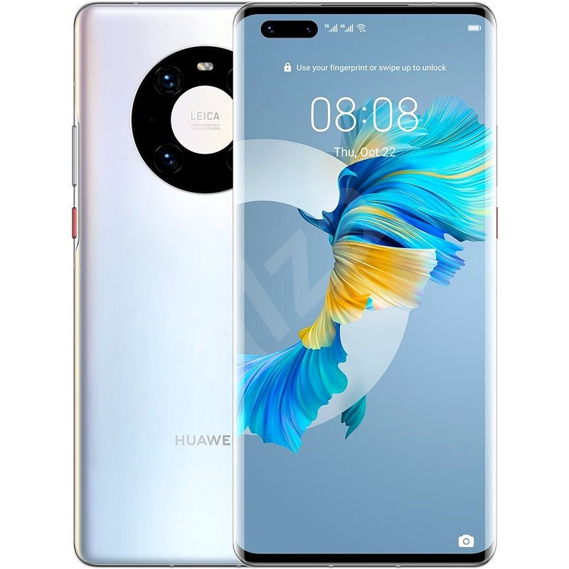 Huawei Mate 40 Pro stříbrná - Mobilní telefon