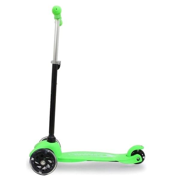 Jamara KickLight Scooter green - Koloběžka