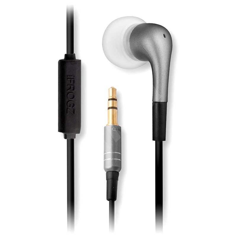 iFrogz Luxe - stříbrná - Sluchátka