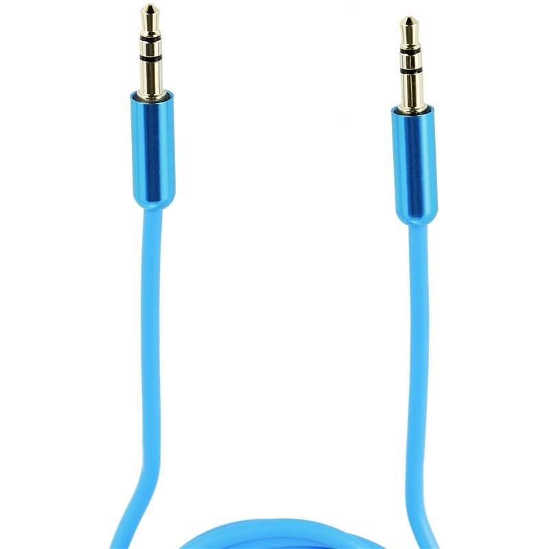 Inakustik 3.5mm jack  1m modrý - Audio kabel