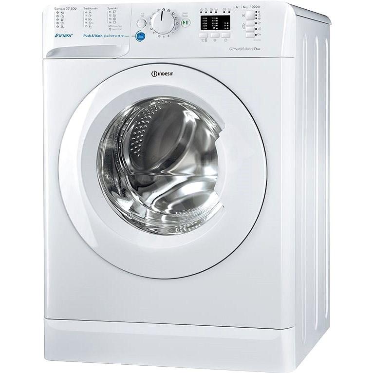 INDESIT BWSA 61053 W EU - Úzká pračka