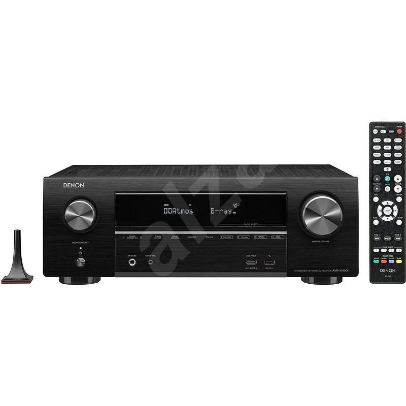 DENON AVR-X1600H Black - AV receiver