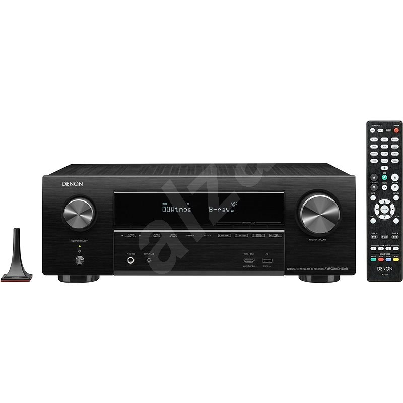 DENON AVR-X1600H DAB Black - AV receiver
