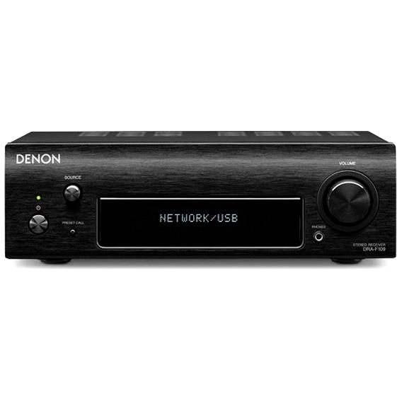 DENON DRA-F109 černý - Stereo Receiver