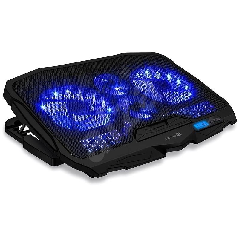 CONNECT IT FrostWind černá - Chladící podložka