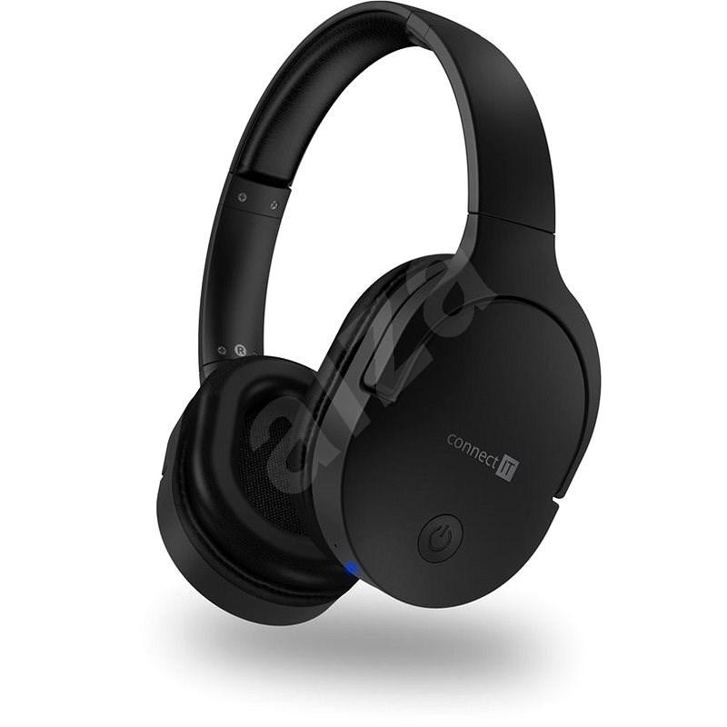 Connect IT SuperSonic CHP-0500-BK, černá - Bezdrátová sluchátka
