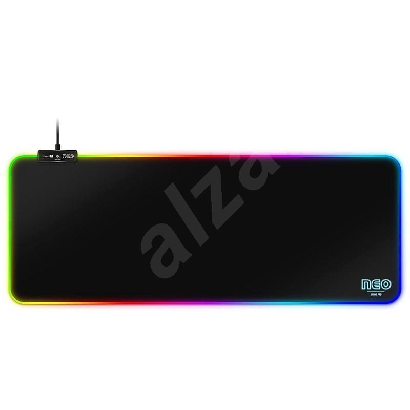 CONNECT IT CMP-3100-LG NEO RGB, černá - Podložka pod myš