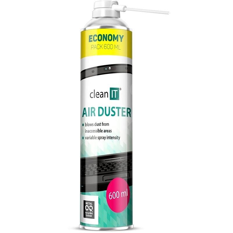 CLEAN IT Stlačený plyn 600ml - Stlačený plyn