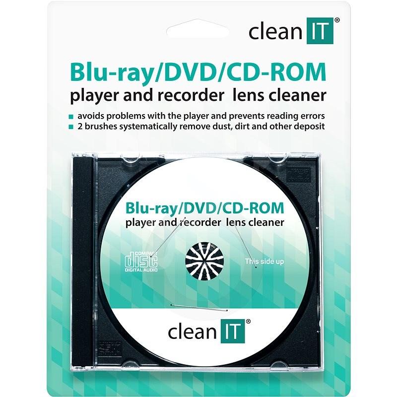 CLEAN IT Brushes - čistící CD/DVD - Čisticí prostředek