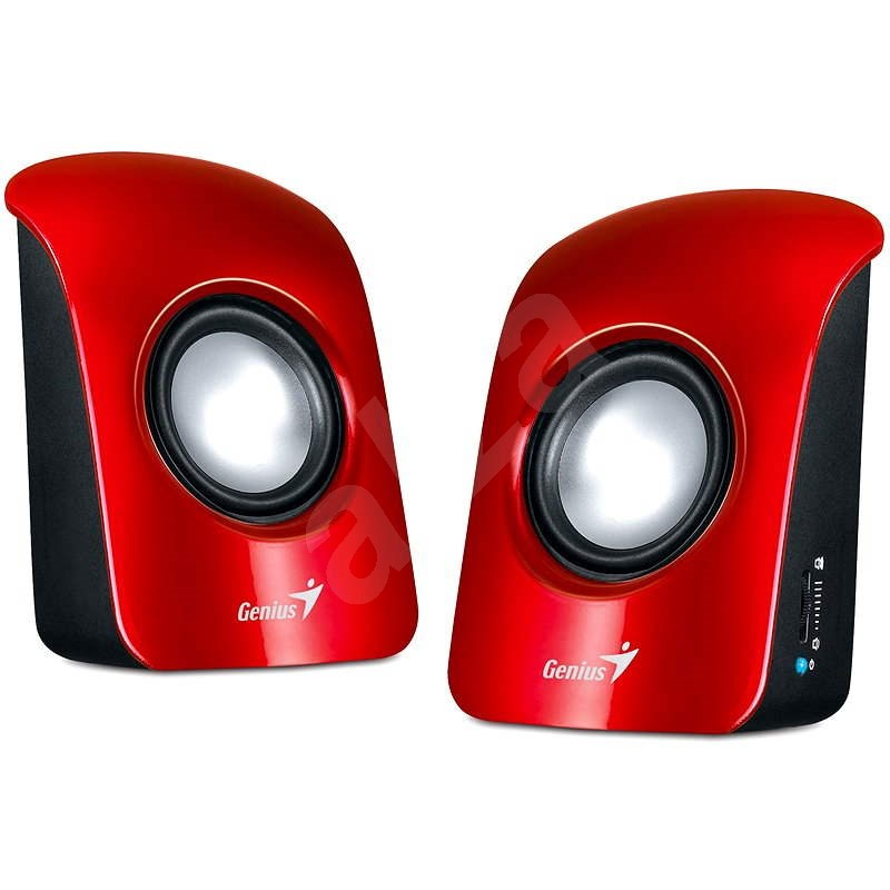 Genius SP-U115 červené - Reproduktory