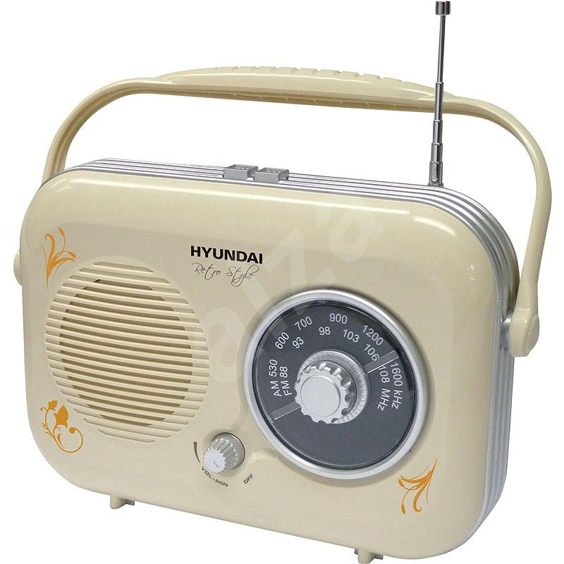 Hyundai PR 100 B Retro béžový - Rádio