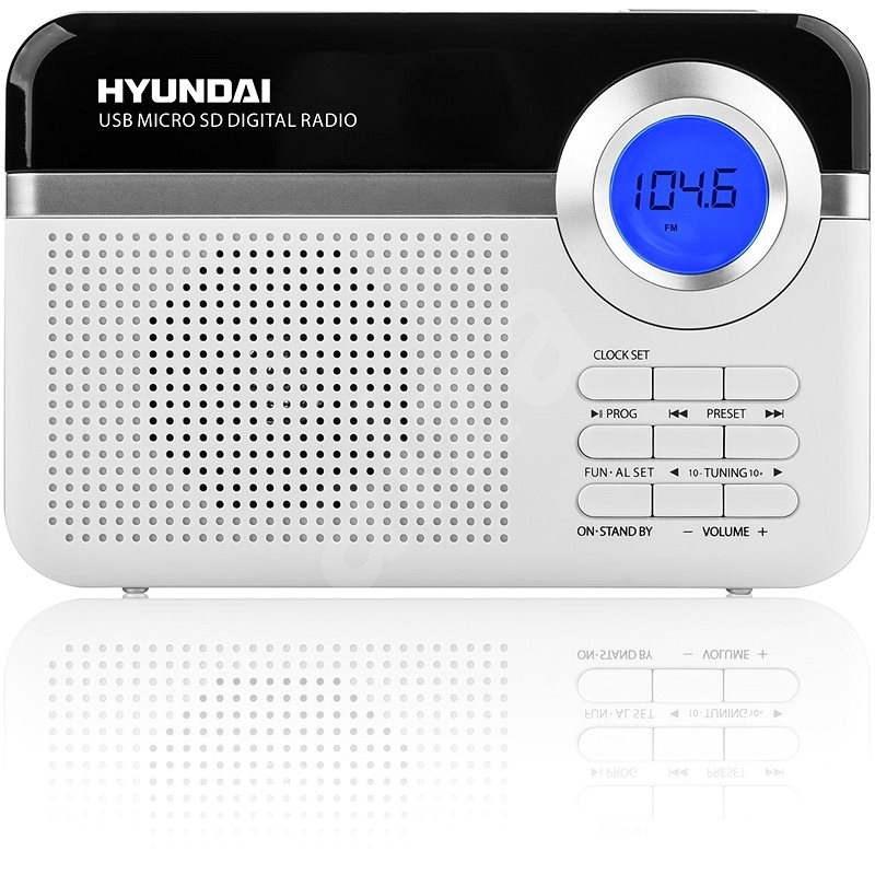 Hyundai PR 471 PLL SU WS bílý - Rádio