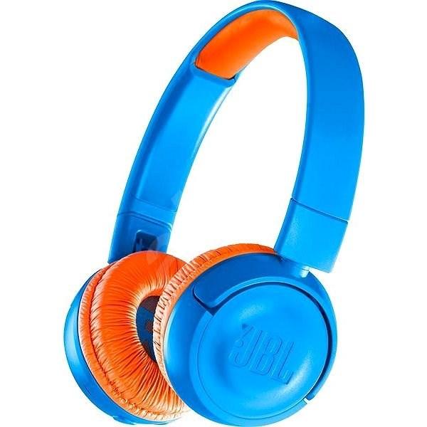 JBL JR300BT modrá - Bezdrátová sluchátka