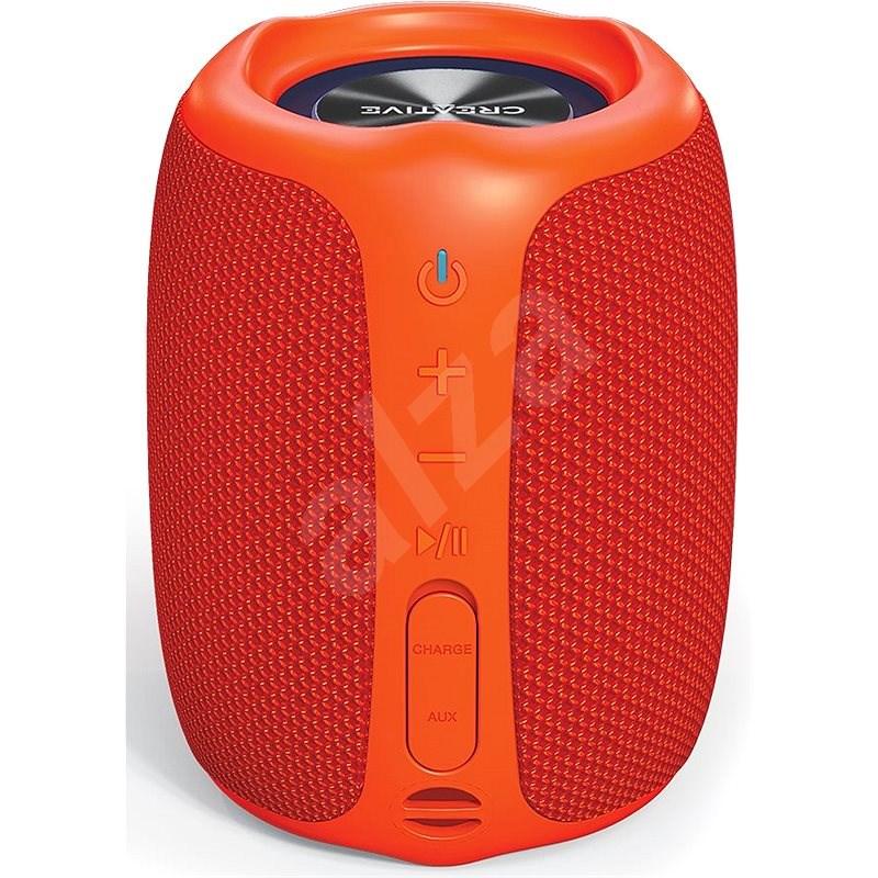 Creative MUVO Play oranžový - Bluetooth reproduktor