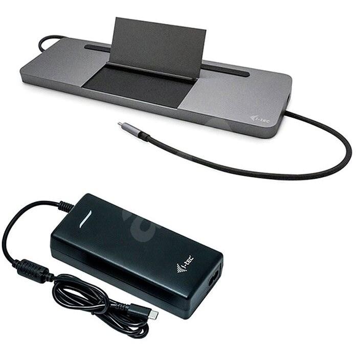 i-tec USB-C 4K 3x Display Docking Station, PD 85 W + napájecí adaptér 112 W - Dokovací stanice