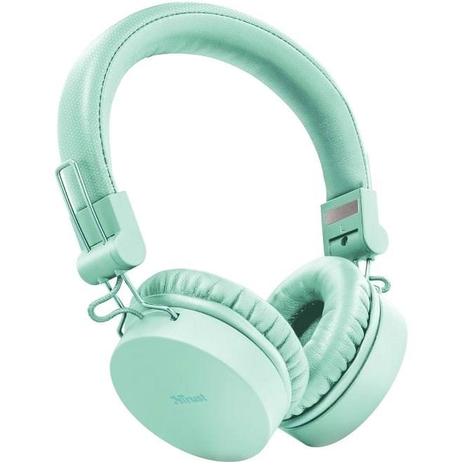 Trust Tones Green - Bezdrátová sluchátka
