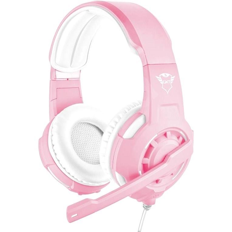 Trust GXT 310P Radius Pink - Herní sluchátka
