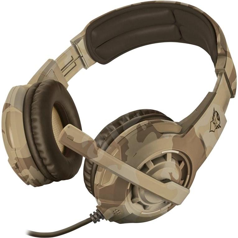 Trust GXT 310D Radius Gaming Headset - desert camo - Herní sluchátka