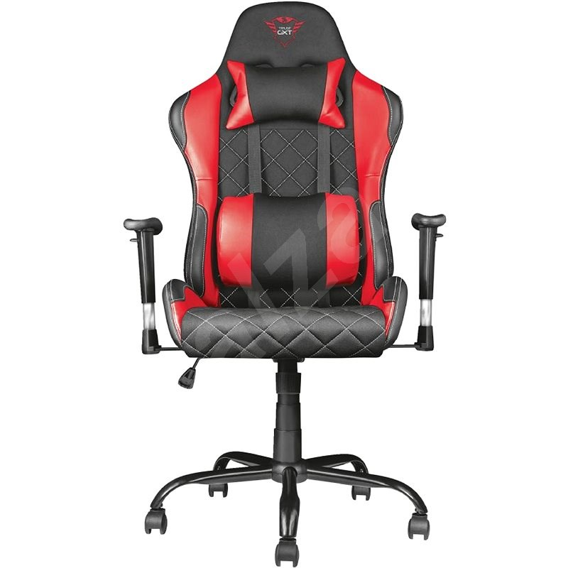 Trust GXT 707R Resto Gaming Chair Red - Herní židle