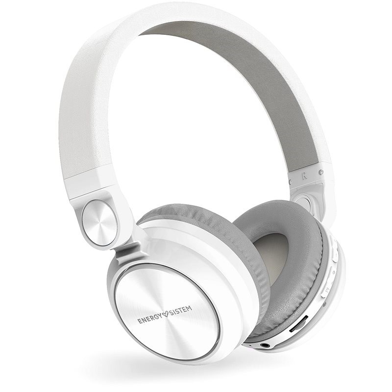 Energy Sistem Headphones BT Urban 2 Radio White - Bezdrátová sluchátka