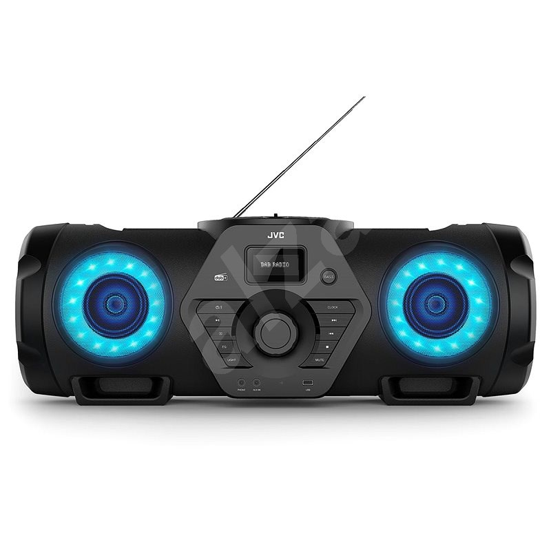 JVC BoomBlaster RV-NB300DABBP - Rádio