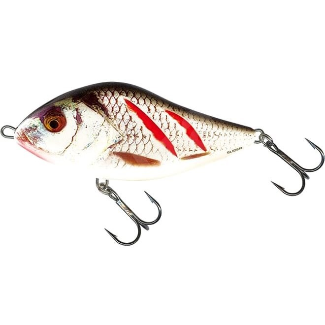 Salmo Slider Sinking 10cm 46g Wounded Real Grey Shiner - Wobler