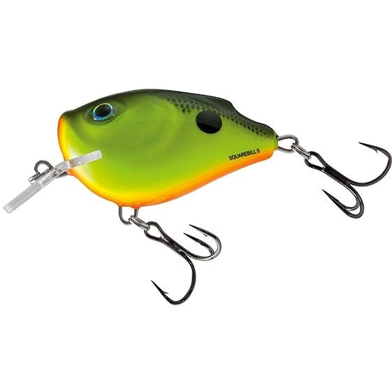 Salmo Squarebill Floating 6cm 21g Chartreuse Shad - Wobler