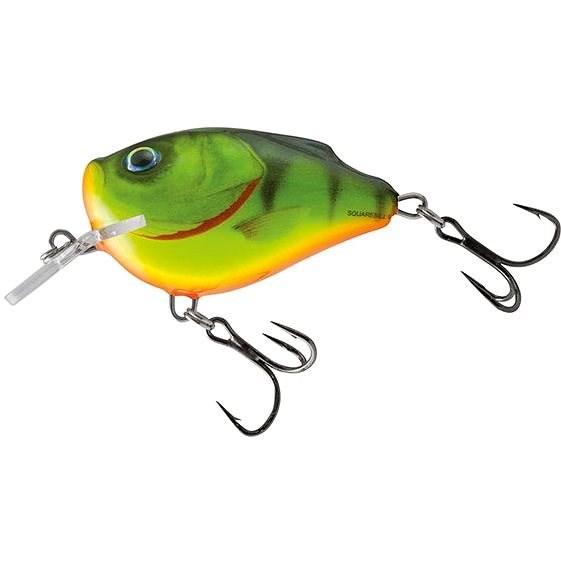 Salmo Squarebill Floating 6cm 21g Hot Perch - Wobler