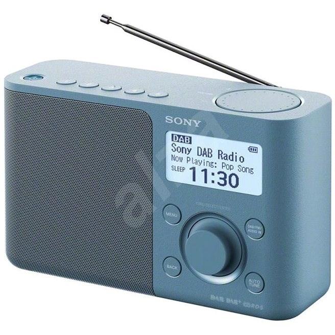 Sony XDR-S61D modrý - Rádio