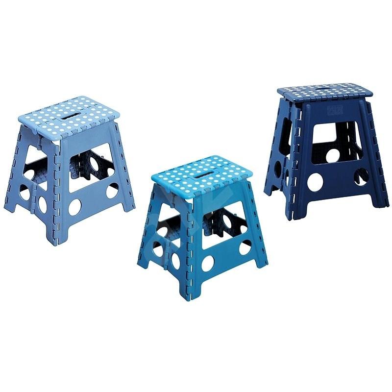 Kesper Stolička plastová vysoká modrá - Dětský nábytek