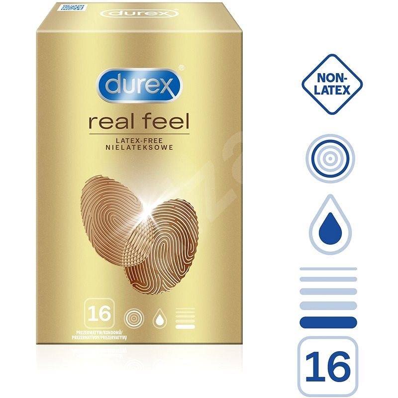 DUREX Real Feel 16 ks  - Kondomy