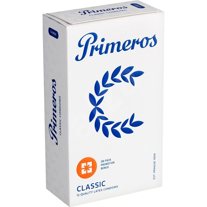 PRIMEROS Classic 12 ks - Kondomy