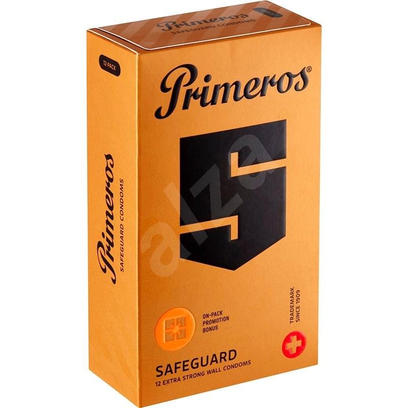 PRIMEROS Safeguard 12 ks - Kondomy
