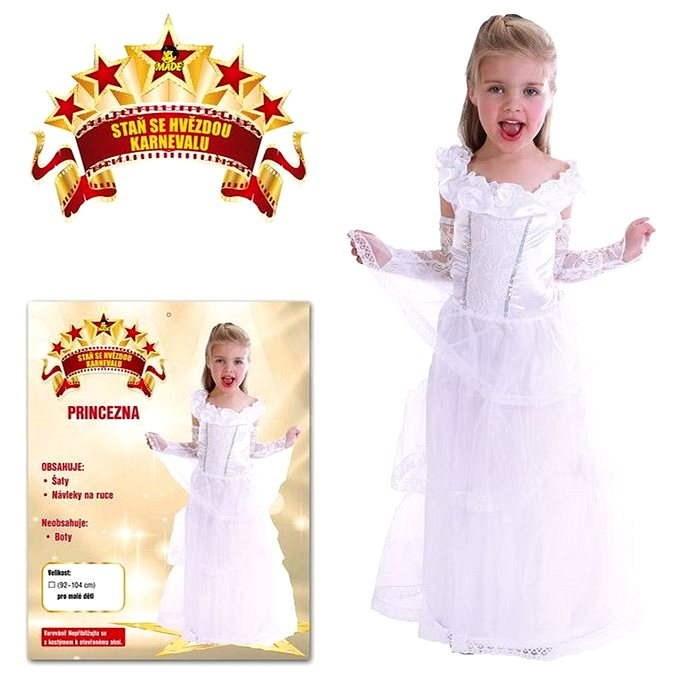 Šaty na karneval - Princezna vel. XS - Dětský kostým