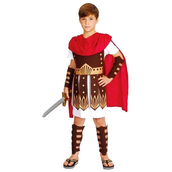 Šaty na karneval - Gladiátor vel. M - Dětský kostým