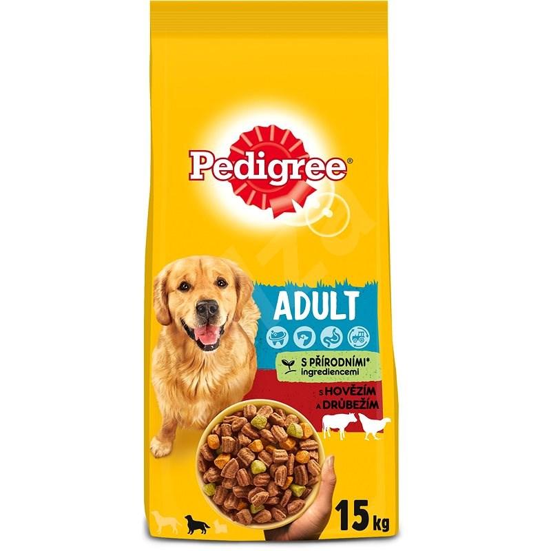 Pedigree Vital Protection granule hovězí a drůbeží pro dospělé psy 15kg - Granule pro psy