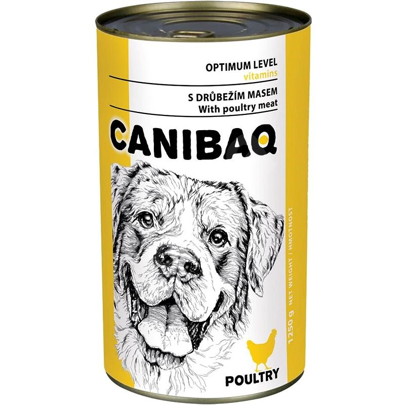 Canibaq Classic Drůbeží 1250 g - Konzerva pro psy