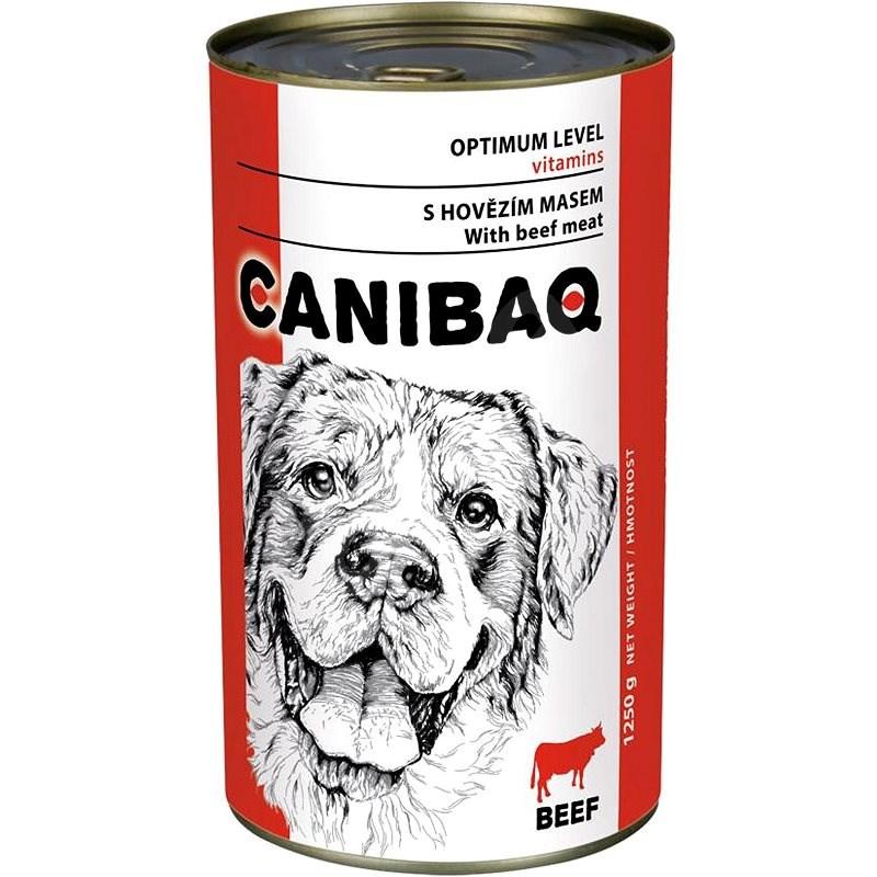Canibaq Classic Hovězí 1250 g - Konzerva pro psy