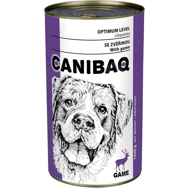 Canibaq Classic Zvěřina 1250 g - Konzerva pro psy