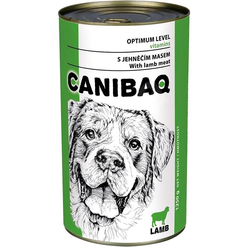 Canibaq Classic Jehněčí 1250 g - Konzerva pro psy