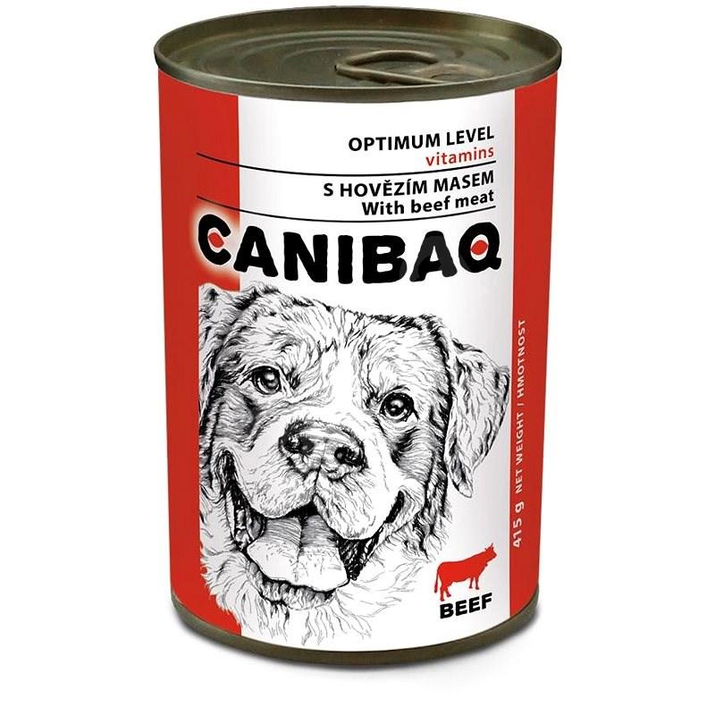 Canibaq Classic Hovězí 415 g - Konzerva pro psy