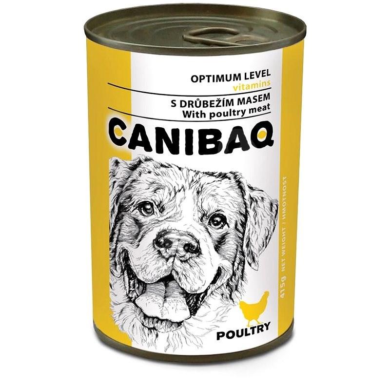 Canibaq Classic Drůbeží 415 g - Konzerva pro psy