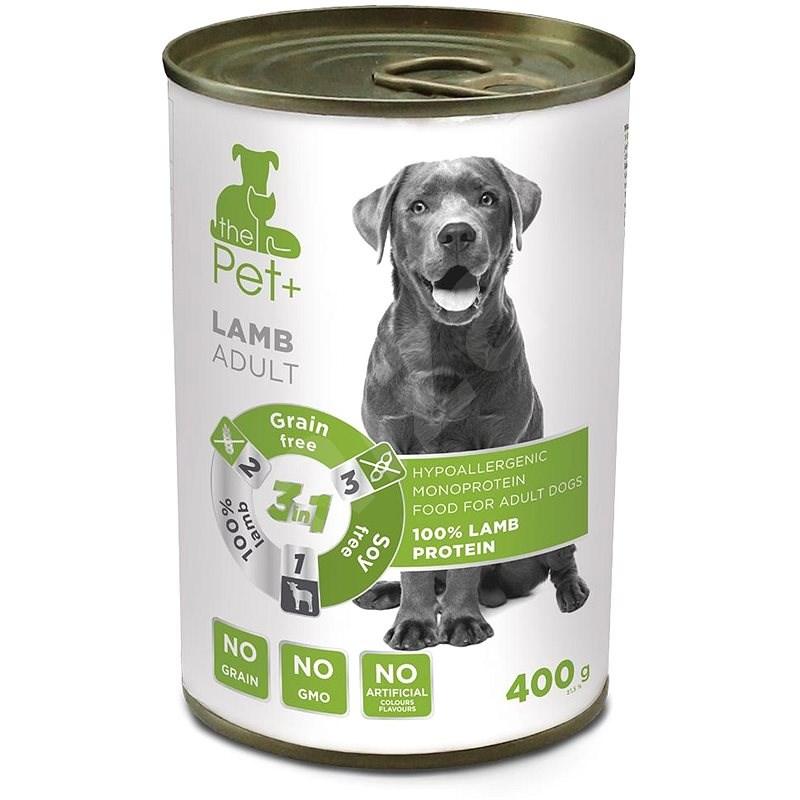 ThePet+ Dog tin Lamb 400 g - Konzerva pro psy