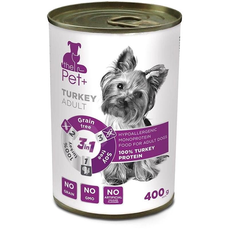 ThePet+ Dog tin Turkey 400 g - Konzerva pro psy