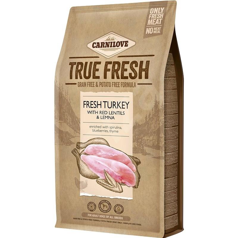 Carnilove True Fresh Turkey for Adult dogs 4 kg - Granule pro psy